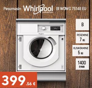 Pesumasin Whirlpool BI WDWG 75148 EU