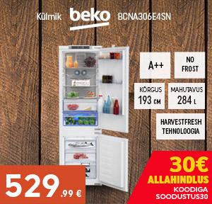 Külmik BEKO BCNA306E4SN