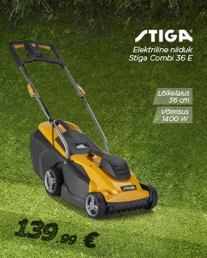Elektriline niiduk Stiga Combi 36 E