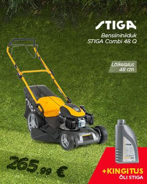 Stiga Combi 48 Q bensiininiiduk