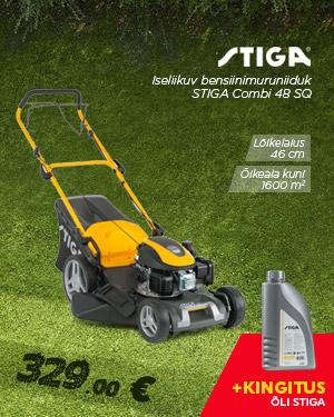 Iseliikuv bensiinimuruniiduk STIGA Combi 48 SQ