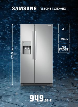 Kaheukseline Külmik Samsung RS50N3413SA/EO